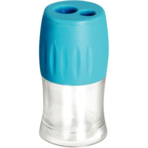 Taille crayon éco 2 usages métal + réservoir